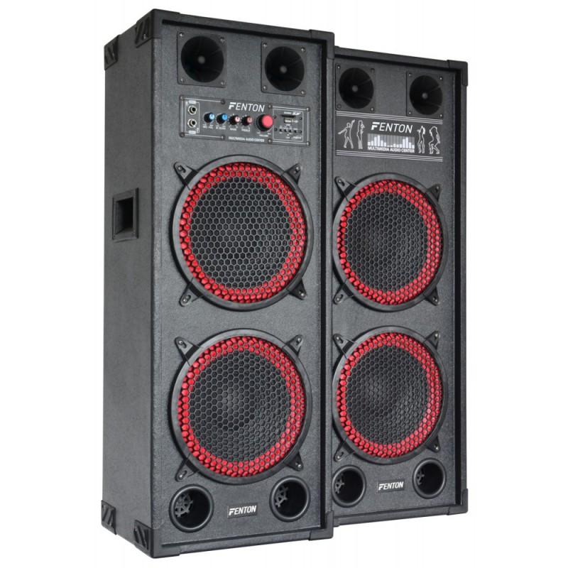 """Set boxe karaoke 2 x 10"""" SPB-210  2x150W RMS"""