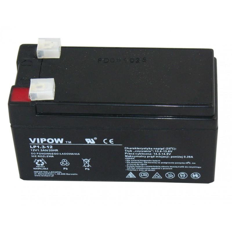 Acumulator Vipow gel plumb 12V 1.3Ah