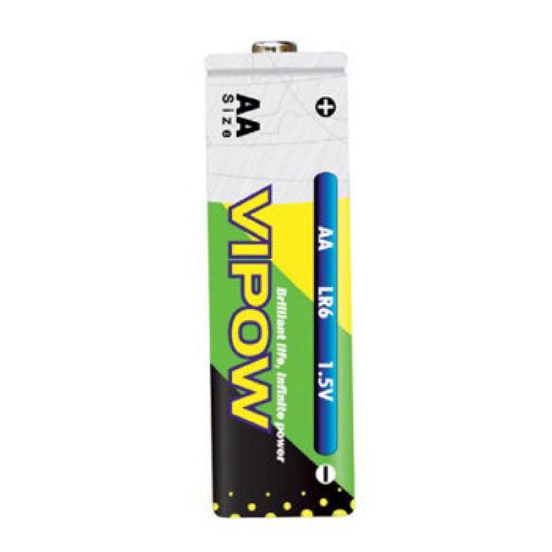 Baterie alcalina Vipow R6, pret/blister