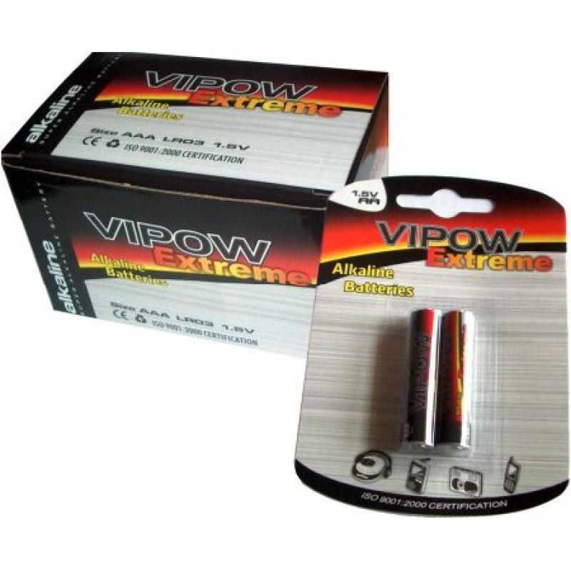 Baterie Vipow super alcalina Extreme R6, 2buc, pret/blister