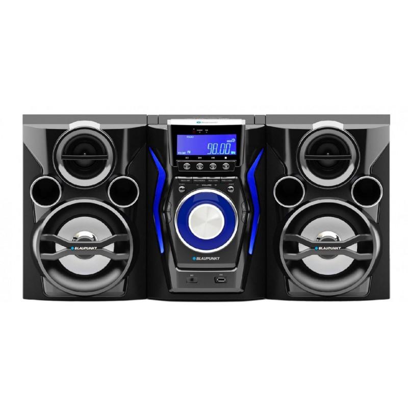 Microsistem Blaupunkt MS60BT, 2 x 25W, stereo, Bluetooth/CD/MP3/USB
