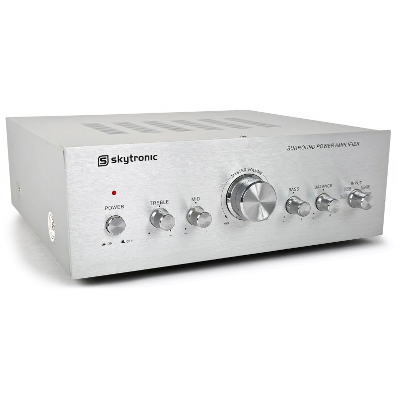 Amplificator stereo 2x50W RMS, 4-8ohm, Skytronic