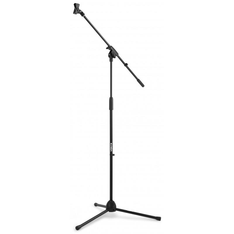 MS10 Suport microfon cu inaltime de 110-230 cm, negru, Vonyx