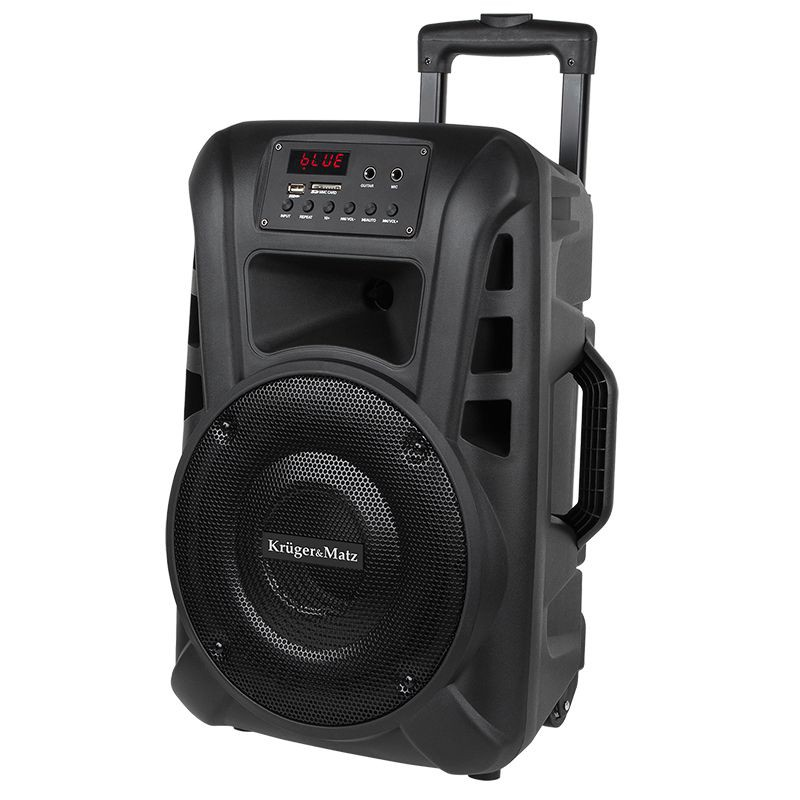 "Boxa activa portabila UHF 10"" Bluetooth/USB/SD/Radio + microfon fara fir"