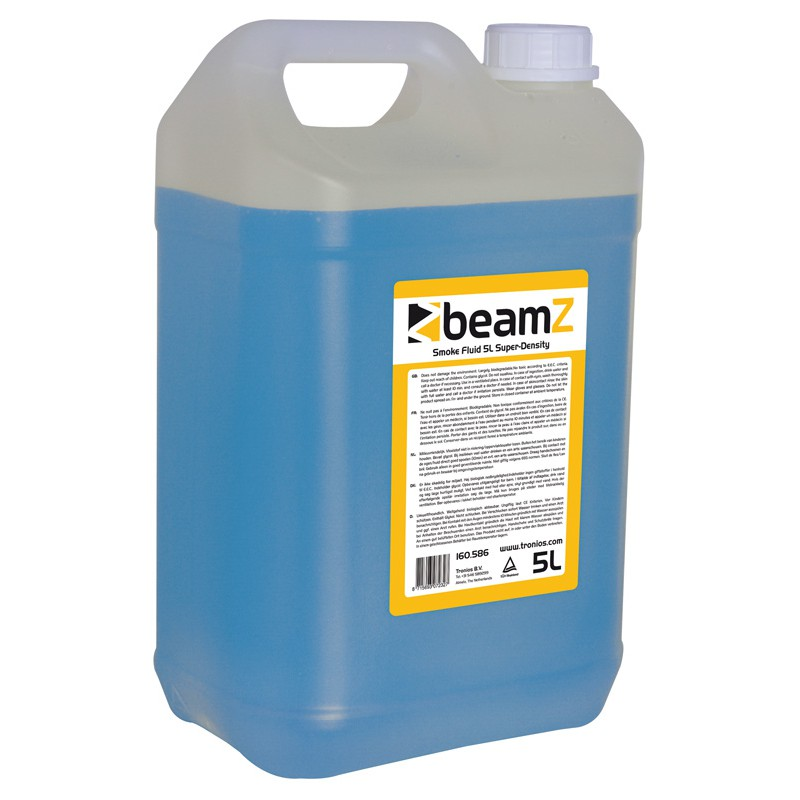 Lichid de fum de inalta densitate, albastru, 5 litri, BeamZ