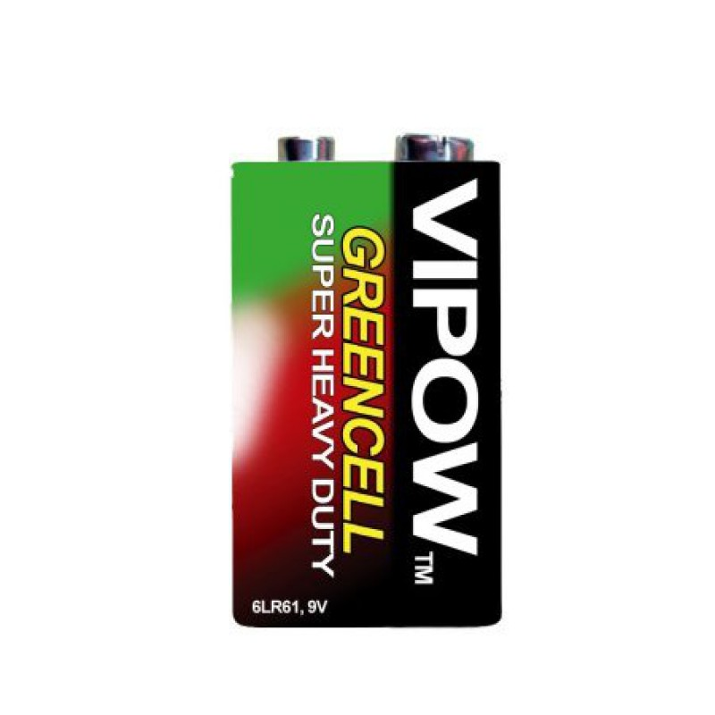 Baterie Vipow Greencell 9V