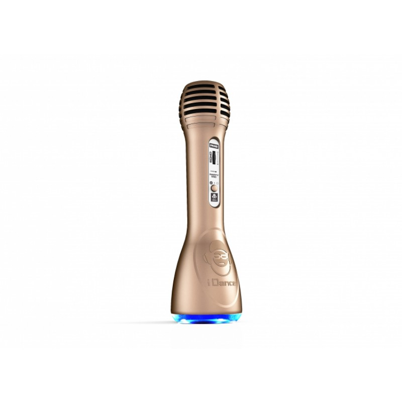 Idance Mini boxa portabila Party karaoke Bluetooth 3W Gold
