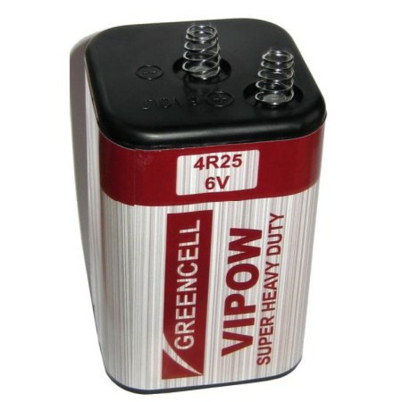 Baterie Vipow 4R25, 6V