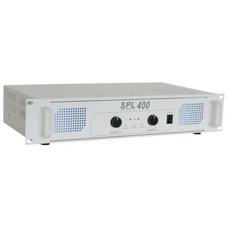 Amplificator SPL400 2x200W, alb (SPL-400)