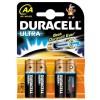 Baterie Duracell ultra LR06, pret/blister