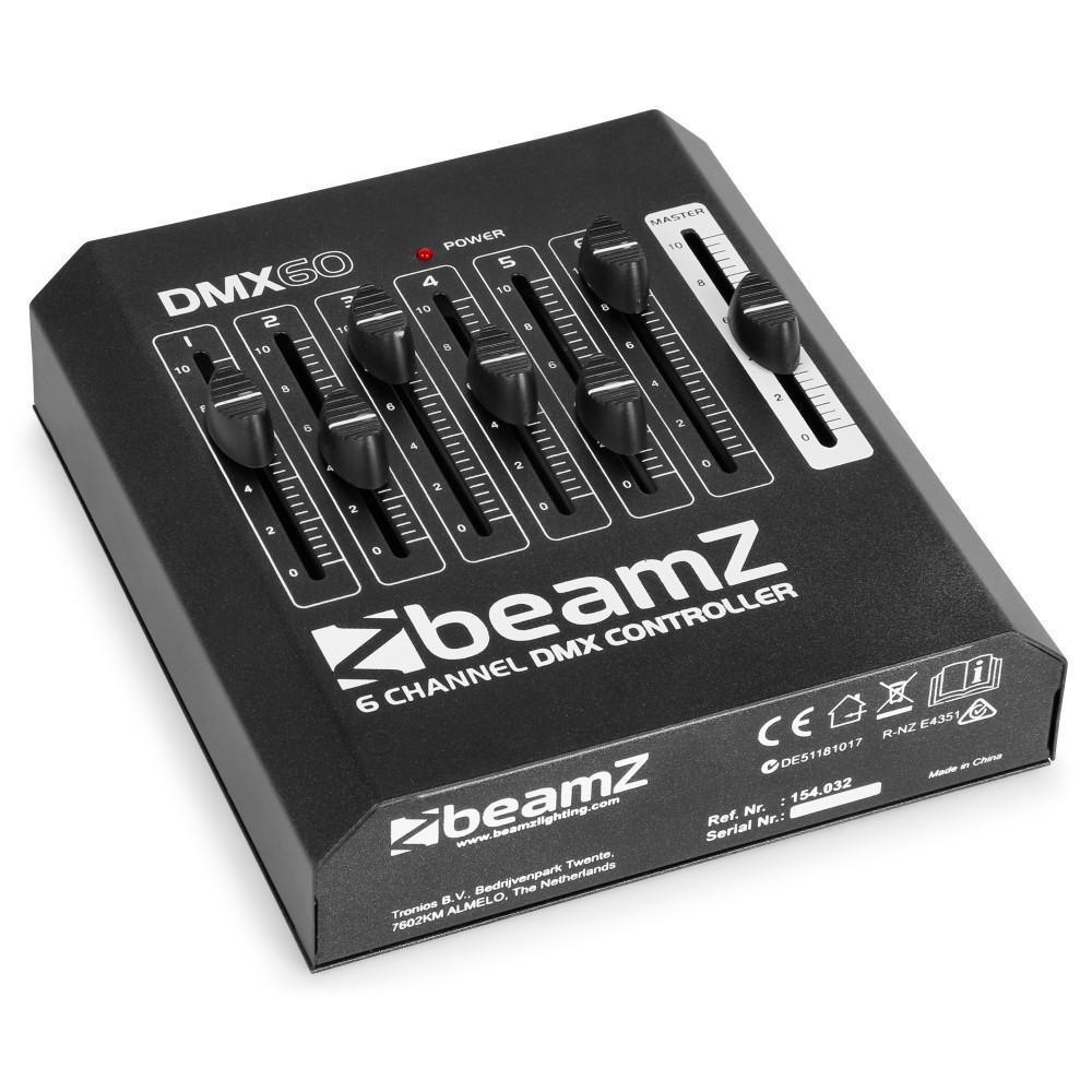 Controller DMX60 pentru lumini 6 canale BeamZ
